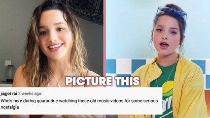 Annie LeBlanc Reacts to YouTube Comments on Her Music Videos