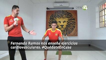 #EjercítateEnCasa - Ejercicios Cardiovasculares