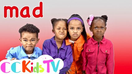 Feelings Song by CC Kids TV | Emotions Song | Different Feelings | The Feeling Song | Feelings
