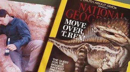 Nizar Ibrahim el detective de dinosaurios