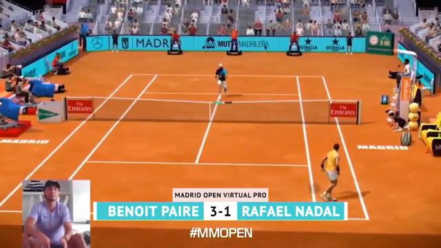 Madrid - Murray solide, Paire à la relance, Nadal à la dérive : le best-of du deuxième jour
