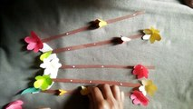 easy paper flower ,  beautiful paper flower making with paper ,  paper craft ,  paper flower ,