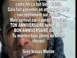 Gil Gimenez - Bon Anniversaire