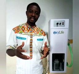 Elvadas Kengne un jeune camerounais invente un respirateur pour soulager les malades du coronavirus