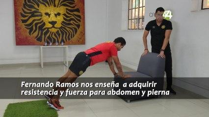 #EjercítateEnCasa - Resistencia y fuerza para abdomen y pierna