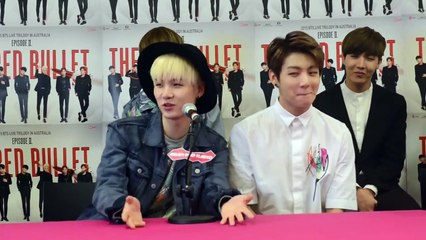 BTS in Australia: What were their impressions of each other when they first met? Favourite dance moves?
