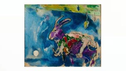 """Méditation guidée à partir de l'œuvre """"Le rêve"""" de Marc Chagall   Musée d'Art Moderne de Paris"""