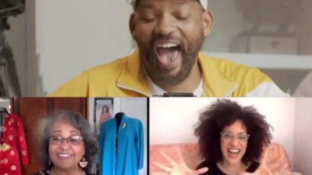 Will Smith reunites 'Fresh Prince' cast for Snapchat show