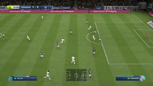 RC Strasbourg - OM : notre simulation FIFA 20 (L1 - 35e journée)