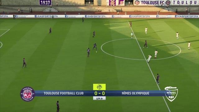 Toulouse - Nîmes : notre simulation FIFA 20 (L1 - 35e journée)