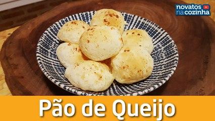 PÃO DE QUEIJO COM APENAS 3 INGREDIENTES   SEM OVOS   SEM ÓLEO