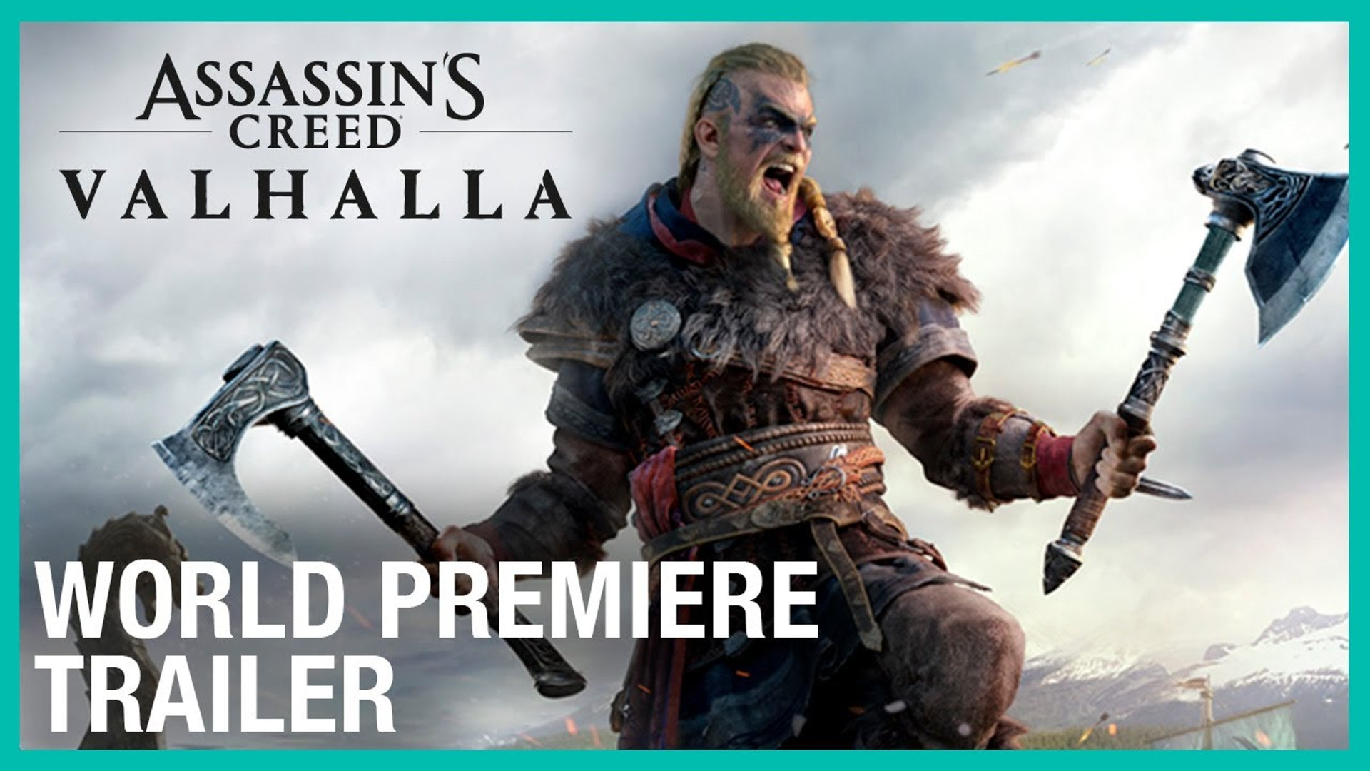 Assassin S Creed Valhalla Cinematic World Premiere Official