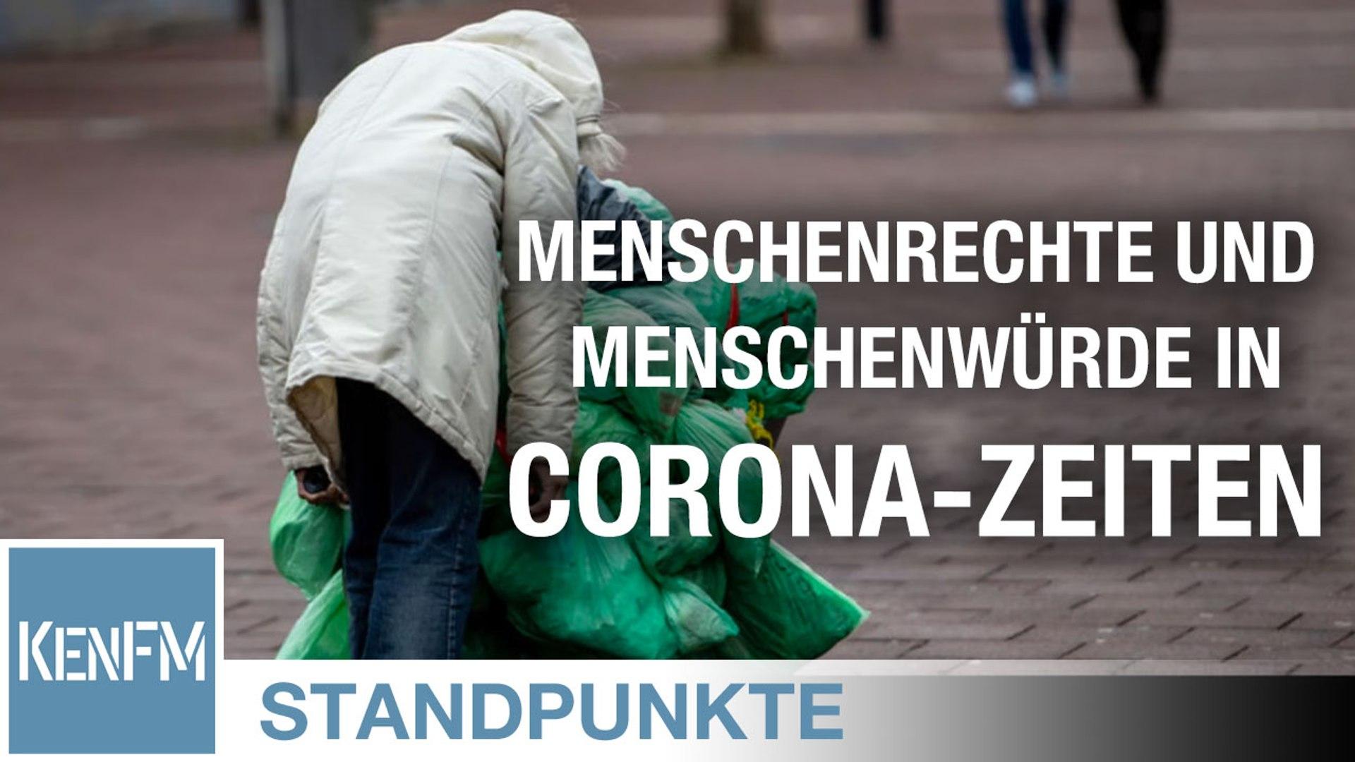 STANDPUNKTE • Das Macht-Instrument. Wo bleiben Menschenrechte und Menschenwürde in Corona-Zeiten?