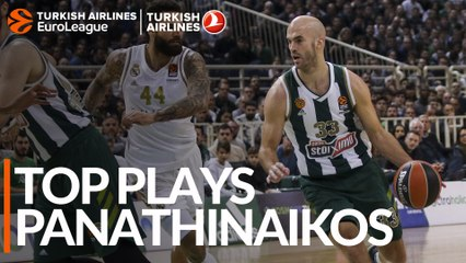 Top Plays: Panathinaikos OPAP Athens