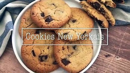 Recette cookies new yorkais