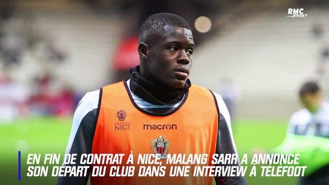 Nice : En fin de contrat, Sarr annonce son départ