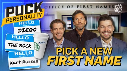 Puck Personality: Pick a New First Name