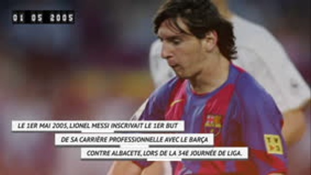 La Liga - Il y a 15 ans, Messi inscrivait son 1er but