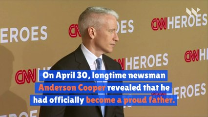 Anderson Cooper Announces the Birth of His Baby Boy