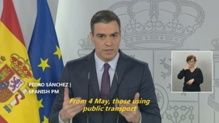 Masks obligatory on public transport in Spain amid de-escalation measures