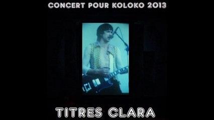 JL Murat   -  Je rêve autant  (live La Coopé - Koloko 2013) - titre rétrospective Clara