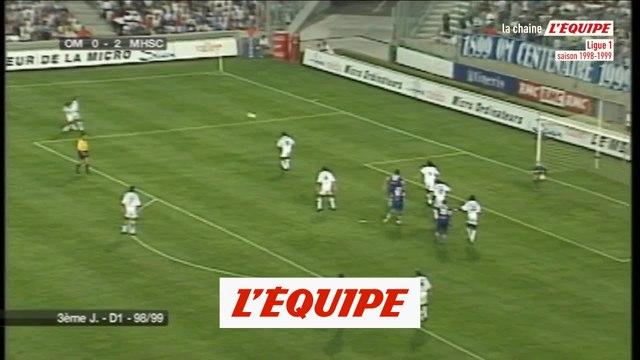 Tous les buts du match OM-Montpellier de 1998 - Foot - L1 - Rétro