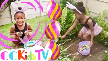 Count Easter Eggs With Peyton! | Easter Egg Hunt With Peyton | Egg Hunt At Home | Easter Egg Hunt!