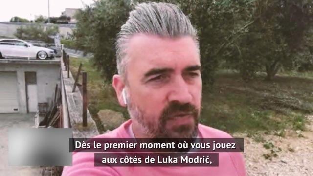 """Real Madrid - Pletikosa : """"Modri? peut voir dans son dos"""""""