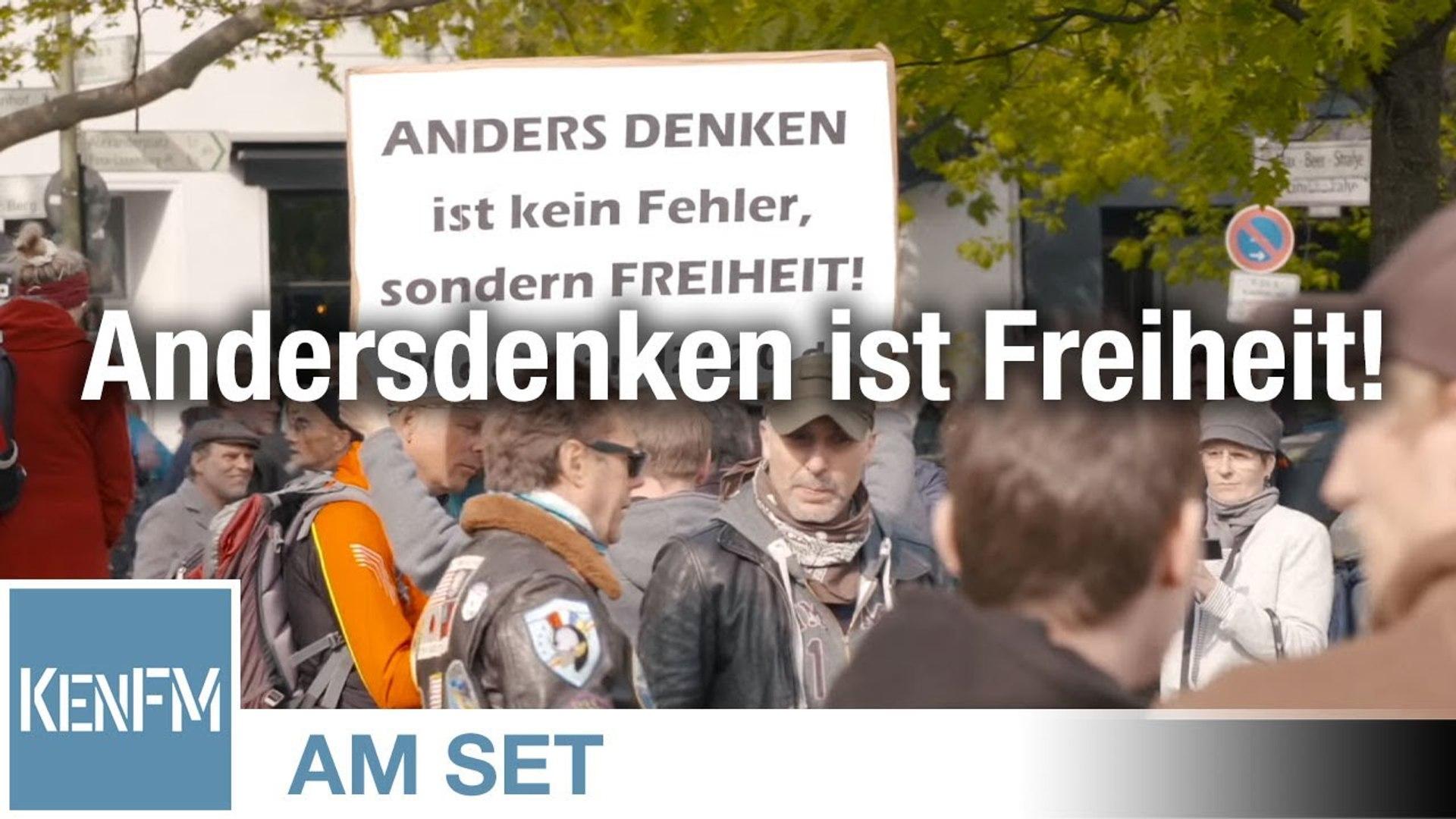 KenFM am Set: Grundgesetz-Demo, Rosa-Luxemburg-Platz am 02.05.2020 in Berlin