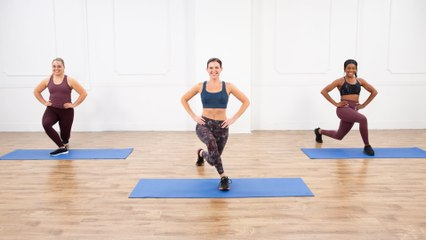 30-Minute Pilates-Fusion Cardio and Full-Body Toning Workout