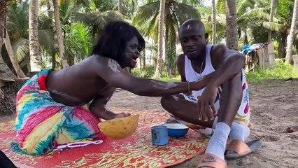 Un marabout délivre un malade de la faim avec pancho et mosses hanouné