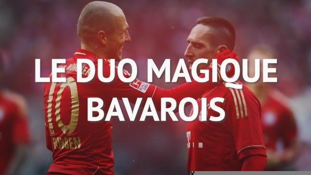 Bayern - Robben et Ribéry, un duo magique
