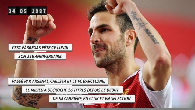 Ligue 1 - Fàbregas fête ses 33 ans