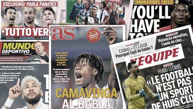 La décision forte d'Eduardo Camavinga pour son avenir, Cristiano Ronaldo rentre à Turin