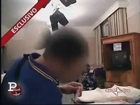 Cette vidéo hallucinante montrant Cannavaro s'injectant un produit par intraveineuse avant Parme-OM en 1999
