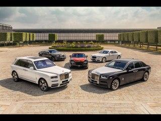 Visite de l'usine Rolls-Royce de Goodwood