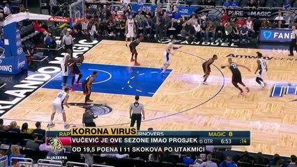 Nikola Vučević o životu bez utakmica i mogućem nastavku NBA sezone