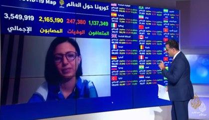 روبوت في تونس لتقليل تواصل الأطباء مع المصابين