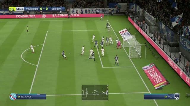 RC Strasbourg - Girondins de Bordeaux : notre simulation FIFA 20 (L1 - 37e journée)