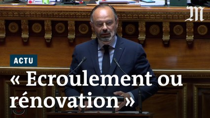 Edouard Philippe au Sénat : « Nous sommes à un moment critique »