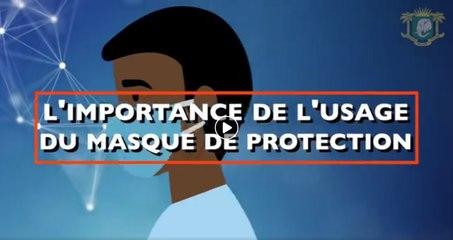 Décryptage : L'importance de l'usage du masque de protection