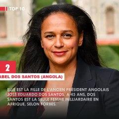 Top 6 des plus filles de présidents Africains