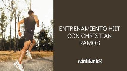Entrenamiento HIIT con Christian Ramos