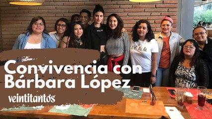 Así se vivió la convivencia con Bárbara López