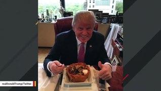 Trump Resurfaces His Old 'Taco Bowl' Tweet For Cinco de Mayo