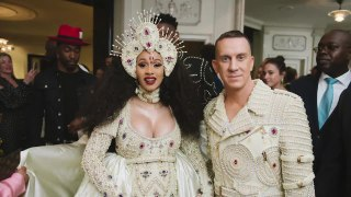 Cardi B and Jeremy Scott Reminisce on Their First Met Gala Together