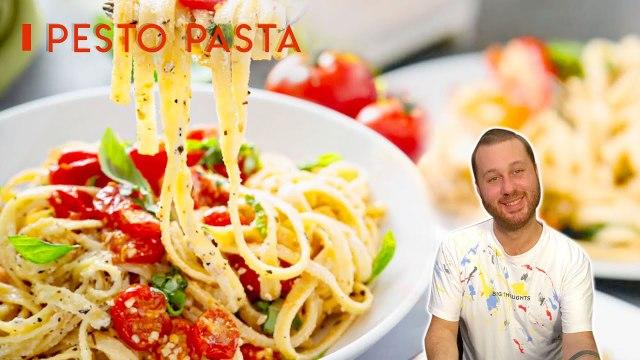 How to Cook Perfect Pesto Pasta | Tagliatelle Pasta With Pesto Sauce l Everyday Food