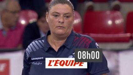 Trophée L'Equipe - Individuel Femmes - Poule A - Match 2 - Pétanque - Replay