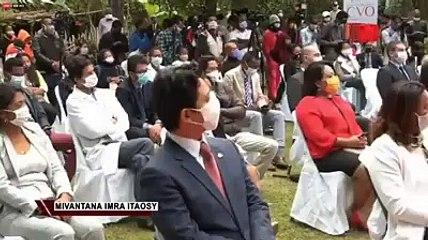 Madagascar offre des dons a plusieurs pays africains contre le covid-19. Un geste fort !
