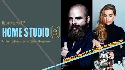 Home Studio(s) #5 : Barbara Carlotti & Thomas de Pourquery